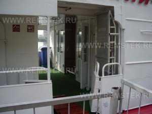 Замена стеклопакетов на корабле (замена стеклопакетов в алюминии)