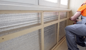 Готовимся к зиме - утепляем балкон и лоджию